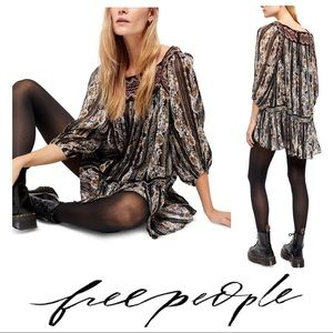NWT $148 Free People Dance Magic Tunic/Dress